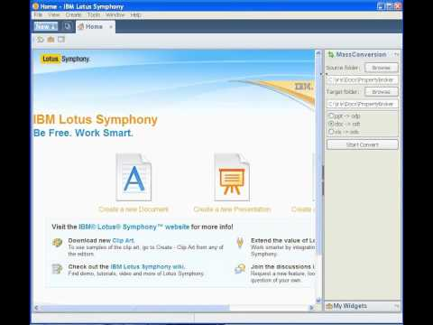 Quick Tip -Convert Microsft Documents To Symphony in seconds!