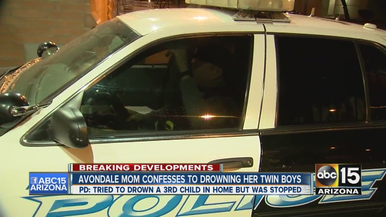 Avondale mom confesses to drowning her twin boys