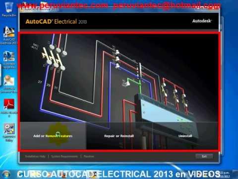 CURSO DE AUTOCAD ELECTRICAL 2013 EN ESPAÑOL, VIDEO TUTORIAL ESPAÑOL ...