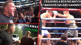 We Crashed GGG's Fight; Gave Away $10,000: Pat McAfee: Hardest Working Man in Sports Ep. 4