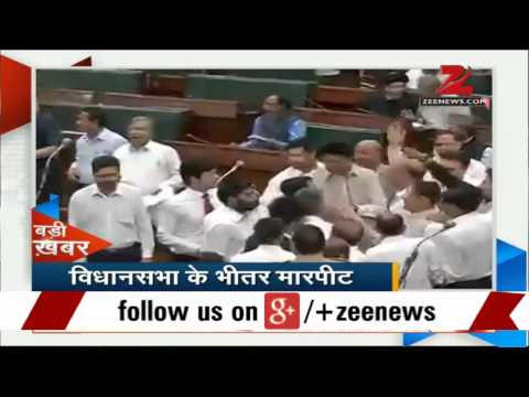 Ruckus in Jammu and Kashmir Assembly over power projects transfer