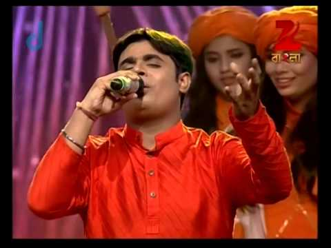 Sa Re Ga Ma Pa Gane Gane Tomar Mone - August 28, 2014 - Aritro and Karthik Baul