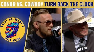 The 1st time Conor McGregor & Donald Cerrone clashed |Turn Back the Clock | Ariel Helwani's MMA Show