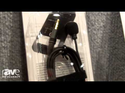 InfoComm 2014: Azden Presents Its i-Coustics Line of Lapel Mics for Smartphones and Tablets