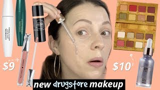 TRYING NEW DRUGSTORE MAKEUP | Best & Worst
