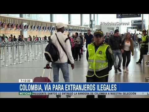 Capturados cinco extranjeros indocumentados en Bogotá - 29 de Mayo de 2015