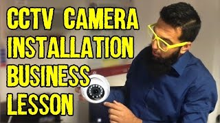 CCTV Camera Business Lesson | How to Install CCTV Cameras | Talk Business at Chaiwala com