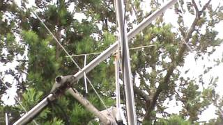 TRRS #0853 - Simple Outdoor Antenna for Scanner Radios