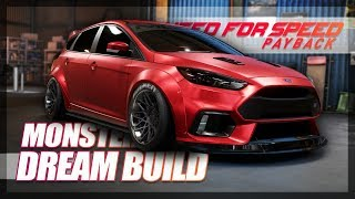 Need For Speed Payback - MONSTER Dream Focus RS Build! (Customization)