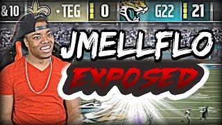 JMELLFLO EXPOSED 21-0...I HATE MADDEN 17 | Madden 17 Ultimate Team Gameplay