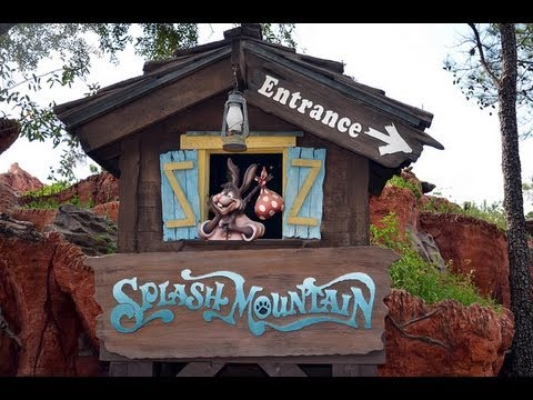 "Splash Mountain ""Song of the South"" Ride WDW"