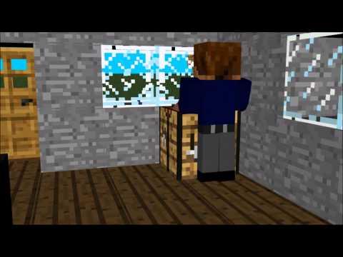 закрывайте дверь. .minecraft 3d анимация