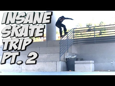 SKATE TRIP WITH VINNIE BANH & CORDANO RUSSELL !!! - A DAY WITH NKA