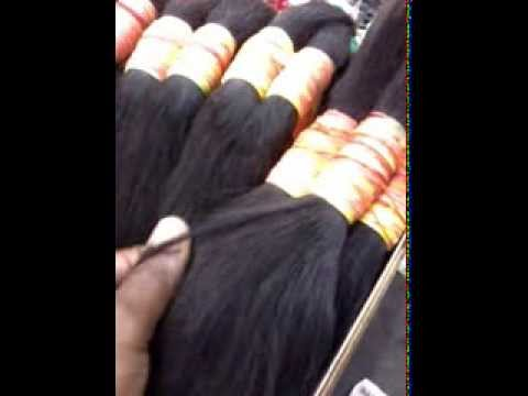 Virgin Malaysian Hair (weave Porn) video