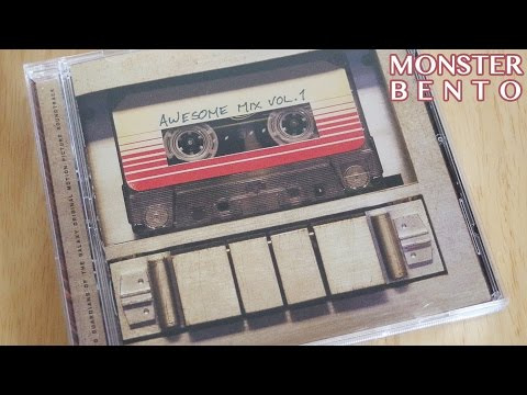 Guardians of the Galaxy - Awesome Mix Vol 1 - Soundtrack CD Review