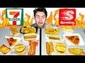 7-ELEVEN vs. SPEEDWAY! - The Whole Menu! Fast Food Taste Test