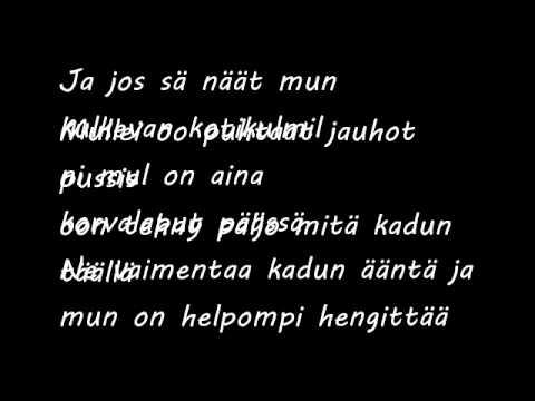Cheek -  Älä Ft. Jonna + Lyrics