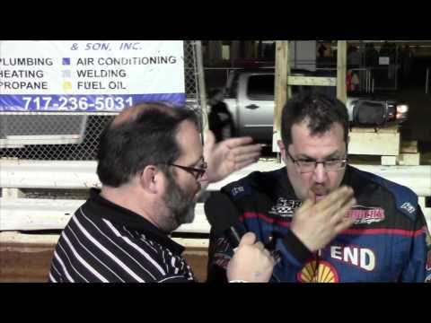 Williams Grove Speedway 358 Sprint Car Victory Lane 4-10-15