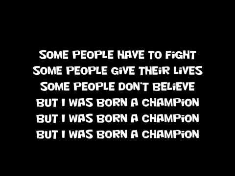 chris brown champion lyrics (lyrics)