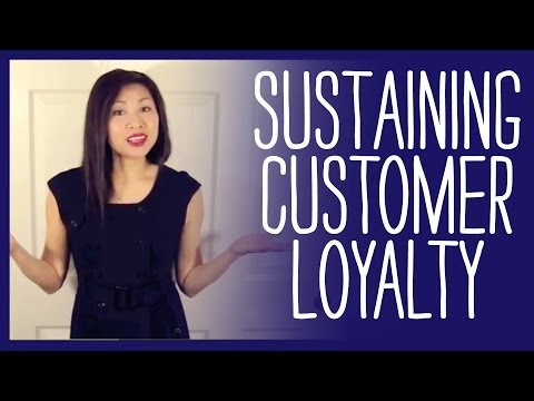 how to sustain customer loyalty