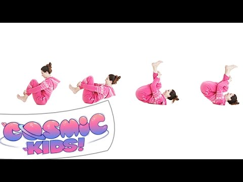 Rock 'n' Roll Pose | Cosmic Kids Yoga posture of the week!
