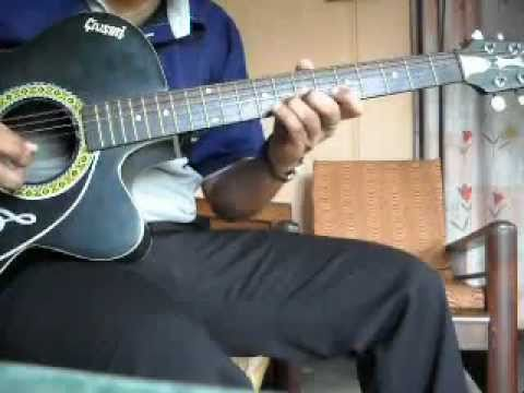 guitar-kisi ki muskurahaton pe ho nisar on guitar(full song)....