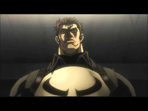 Marvel Anime: Avengers Confidential Black Widow & Punisher - Trailer (german)