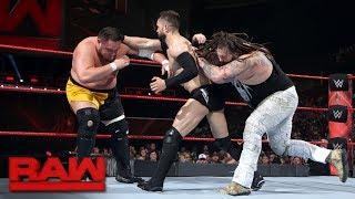 Finn Bálor vs. Bray Wyatt vs. Samoa Joe - Triple Threat Match: Raw, May 29, 2017