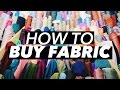 How to Buy Fabric (Terminology & Shopping Tips!) | WITHWENDY