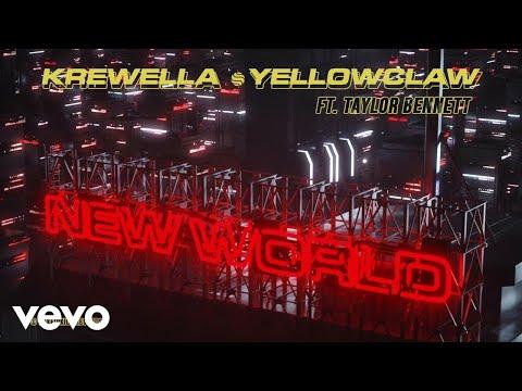 Krewella, Yellow Claw - New World (ft. Taylor Bennett) (Audio)