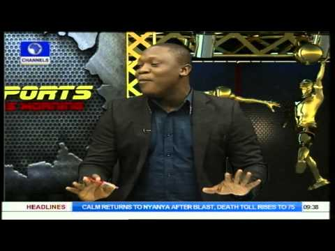 Sports This Morning: Stephen Keshi Answers Argentina's Coach Sabella PT1