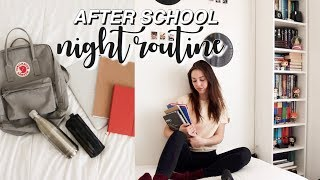 my after school night routine 2019!