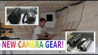 Building my steel sailing yacht Ep.23 NEW camera gear!