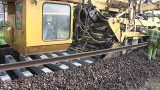 การสร้างรางรถไฟ