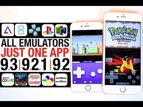 All Emulators iOS 9.3. 9.2.1 & 9.2 - GBA. NDS. PSP. PS1. & N64!