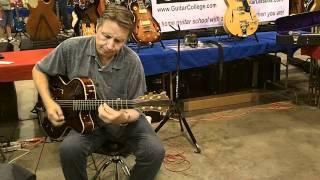 Autumn Leaves on a John Pisano Eastman guitar