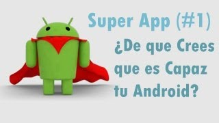 Mejor app android | Controlar android sin manos