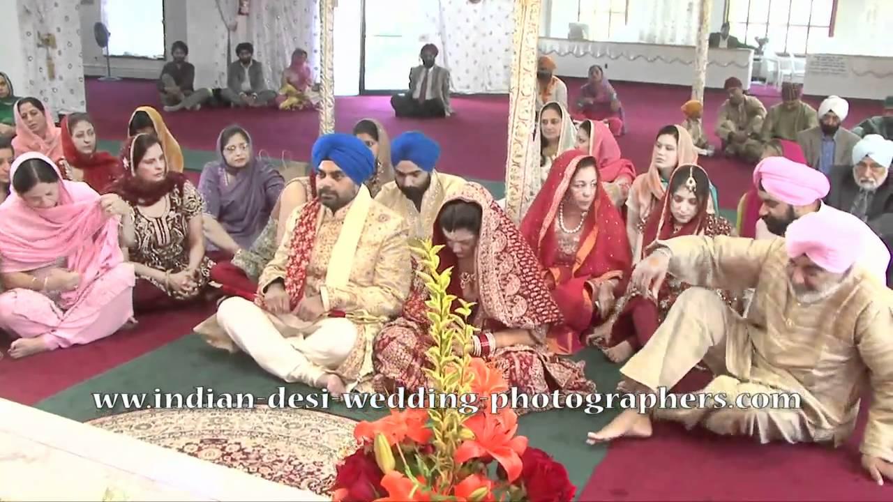 Punjabi Sikh Wedding Ceremony Videos Photographers NYC NJ NY