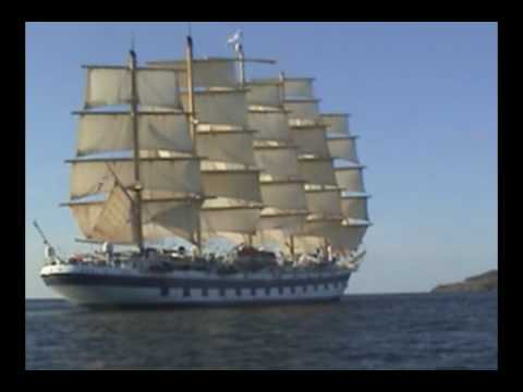 The Royal Clipper sets sail