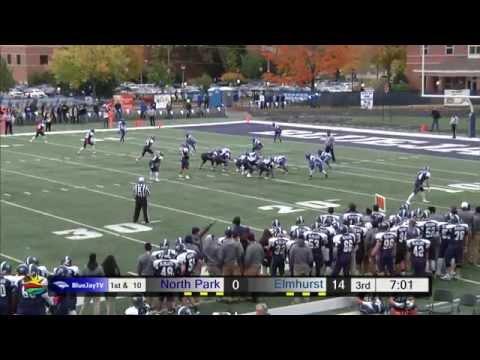 2014-10-18 Elmhurst College Football vs North Park University