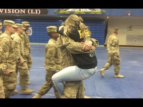 Fort Drum soldiers return from Iraq deployment
