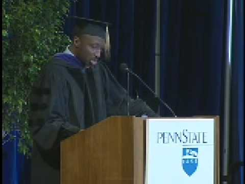 Kenneth C. Frazier addresses Spring Graduating Class