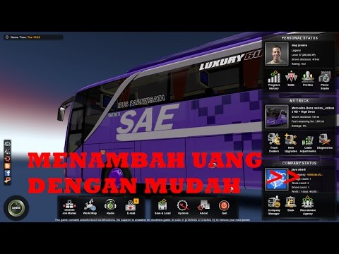 Cara ngecheat(menambah) uang game ETS2  dengan Cheat Engine| Euro Truck Simulator 2