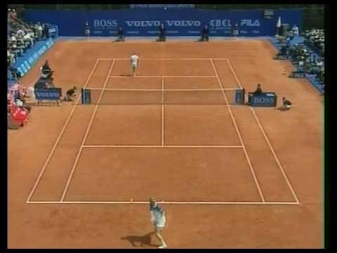Boris Becker wird von Thomas Muster verarscht (Monte Carlo 1995)