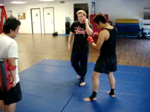 Donnie B: Muay Thai Round Kick Technique Image 1