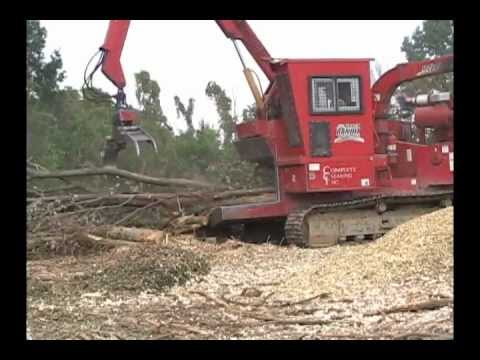 "Bandit Model 1900 XP (19"" Disc-Style) Whole Tree Chipper"