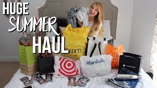 huge summer try-on haul + giveaway! | Forever 21, Marshall's, Bliss, + VICI