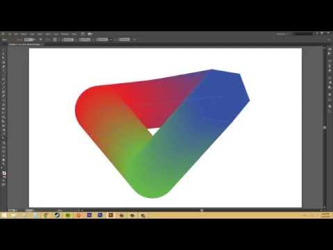 Adobe Illustrator CS6 for Beginners - Tutorial 48 - Blend Tool and Options