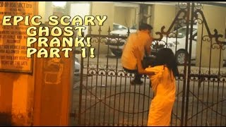 Epic Scary Ghost Prank On Strangers   Pranks in India   By AS Turn Twister-Part 1