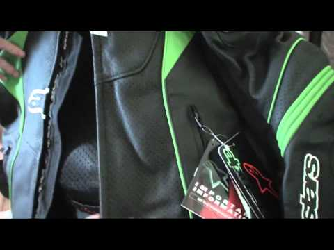 Unboxing ALPINESTARS Leather Jacket & SHOEI Full Face Helmet